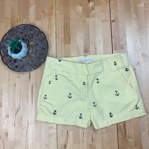 J. Crew Broken In Chino anchor shorts Sz 0
